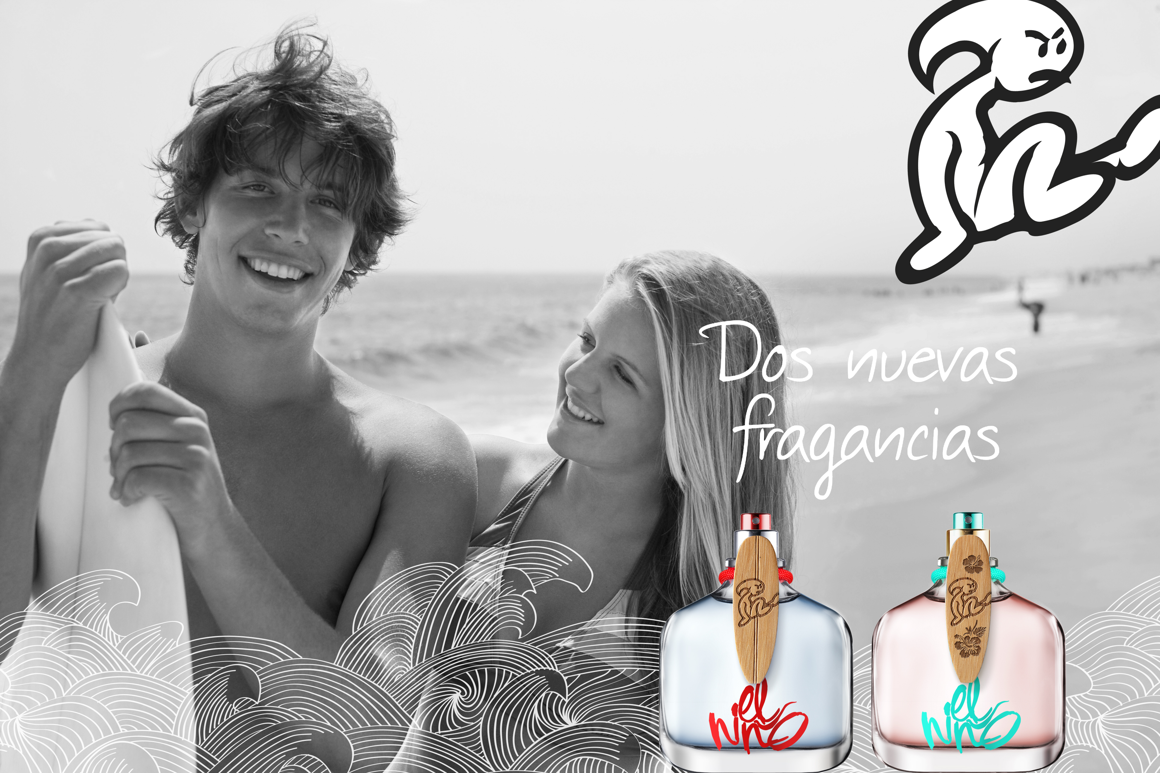 1e5de1ee449 El Niño Tarifa, Spain´s Nº1 Surf teen brand has entered the fragrance world  with its scent premiere, inspired in the sea ozonic breeze.
